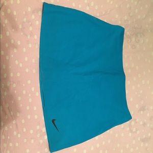 Blue Nike Dri-fit skirt